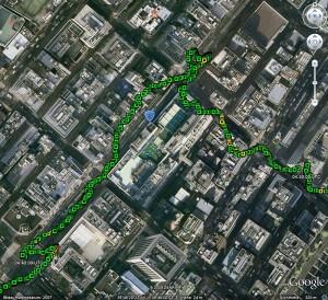 RGM-3800-Track aus der Tokioter Innenstadt