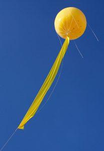 SchachtZeichen-Ballon