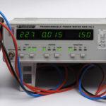 Leistungsmessung an einer ausgeschalteten Allnet ALL3073v2