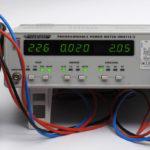 Leistungsmessung an einer eingeschalteten Allnet ALL3073v2